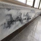 De natuurlijke Tegels van de Muur van de Steen Bewolkte Grijze Marmeren van China