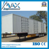 Venta plana del precio del acoplado del transporte de contenedores del árbol de la marca de fábrica 3 nueva semi