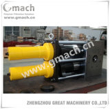 GM-Dp-r Series double Piston Continuous screen Changer for plastic recycling Machine