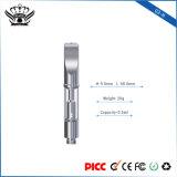 De dubbele Sigaret van de Patroon E van Cbd van het Glas van de Olie van de Hennep van de Aanraking g3-h van de Knop van de Rol 0.5ml Lege