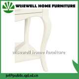 Mesa de cabeceira de madeira para casa para quarto (WT-867)