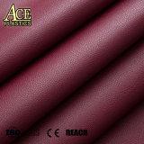 Couro artificial de PVC coloridos e couro sintético de PU para sofá, calçados, saco