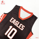 Anti-Wrinkle Healong plein de SUBLIMATION Maillot de basket-ball