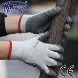 Nmsafetyの最もよい品質の熱乳液の手袋