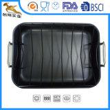 Жесткий анодированный повредить антипригарное покрытие в посудомоечной машине бесплатно Pfoa Roaster посуда для приготовления пищи (CX-SR0202)
