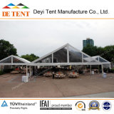 Grosses Wedding Tents mit Transparent Cover