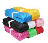 공장 고품질 다채로운 폴리에스테 가죽 끈 테이프