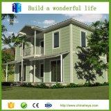 高品質のプレハブの鉄骨構造の家屋