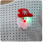 De Broche de Kerstman van de Stoffen van de Flits van Kerstmis glanst de Stijl van de Mengeling van de Giften van de Decoratie van Kerstmis van de Broche van de Manier
