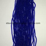 Edelstein-halb kostbarer Stein-blaue Achat-Kristall-Raupe