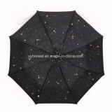 Kundenspezifischer voll Innere-Druck-Entwurfs-automatischer Stern-Regenschirm für Förderung