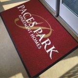 Выбитая резина напечатала половых коврики двери гостеприимсва ковра маркетинга промотирования логоса изготовленный на заказ