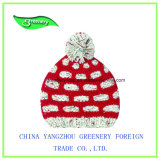 Красивейший шлем Knit зимы детей цвета с Earflap