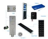 40W 50W 60W luz de rua LED solar integrada da Luz de Estrada Solar com marcação RoHS aprovado