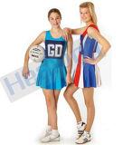 Usure faite sur commande sublimée de sport de robe de Netball