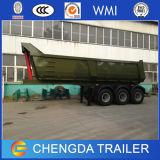 2 판매를 위한 차축 40t 덤프 트럭 트레일러