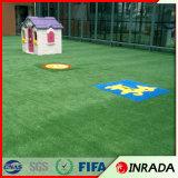 césped artificial del césped del campo de fútbol 10000dtex para la venta