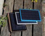 La grande Banca portatile solare di potere della parete 10000mAh del caricatore per il nero del telefono