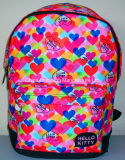 Lovely Hello Kitty Satchel Retour au sac scolaire Student Backpack