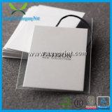 Изготовленный на заказ перевозчик бирки обеспеченностью одежды печатание бирки Hang багажа