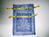 파란 Organza 선물 부대 (NP--006)