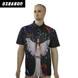昇華メンズポロのジャージーの新しく熱い販売のワイシャツによってカスタマイズされるポロ
