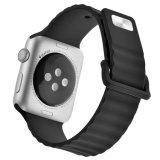 Para Apple Iwatch 3 deportes de la banda de silicona de sustitución de bucle de correa Pulsera de la banda de 38mm 42mm