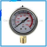 ホールダー304のステンレス鋼の圧力計の振動証拠が付いている2.5inches圧力計
