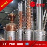 la colonna di rame del distillatore 6plates della vodka di riflusso 150L-5000L distilla i distillatori domestici dell'alcool della strumentazione