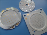 Teste de stress térmico da placa PCB materno Cerâmica Preto Máscara de Solda