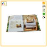 Service d'impression de livre de cuisine de livre À couverture dure en Chine