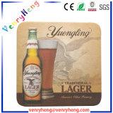 Onderlegger voor glazen van het Document van de Drank van het Bier van de douane de Absorberende