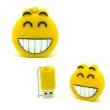 Изготовленный на заказ привод вспышки USB PVC свободно образцов ручки памяти подарка