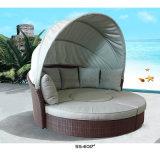 Daybed esterno esterno poco costoso del sofà con il tavolino da salotto