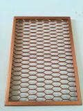 PVDF Beschichtung-Aluminium erweitertes Ineinander greifen-Panel