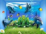Azulejos hermosos de los azulejos de suelo 3D en Canadá (G12180017)
