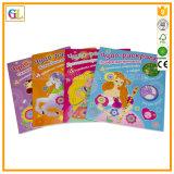 Servizio di stampa del libro di fumetti del punto di sella (OEM-GL036)