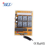 DC12V/24V 4 каналов радиочастотный приемник для беспроводной системы сигнализации до сих пор не404ПК