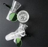 Conjunto de 19mm de la flor de nieve Triángulo Percolator tazón de vidrio.