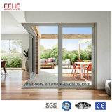 Frame van de Vensters en van de Deuren van het Bureau van het aluminium het Hangende Glijdende met het Ontwerp van het Glas
