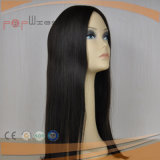 Parrucca ondulata superiore di seta di Sheitel dei capelli brasiliani (PPG-l-0328)