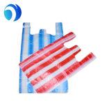 HDPE LDPE PE супермаркета полиэтиленовый пакет покупкы тенниски изготовленный на заказ Biodegradable прозрачного упаковывая