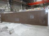 Кофе песка Quartz-Countertop столешницу на кухне&Бар верхней части