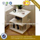 Verre aluminium moderne Partition/station de travail de bureau en bois (HX-8N0653)