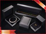La mode en cuir d'or Boîte à Bijoux Bijoux de pu définir la case