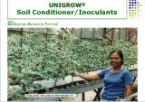 Inoculador del suelo de Unigrow en cualquie establecimiento vegetal