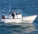 Constructeur professionnel de bateau de fibre de verre de bateau de pêche de Liya 7.6meter