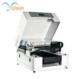 Máquina de impressão aprovada Ce da picareta da guitarra com o AR-DIODO EMISSOR DE LUZ Flatbed UV pequeno Mini4 da impressora de 6 cores
