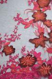 女性Dressesおよびホーム織物ののための方法様式の小花の刺繍の網のレースファブリック