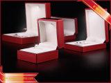 Red Bijoux boîtes d'emballage des boîtes de bague LED